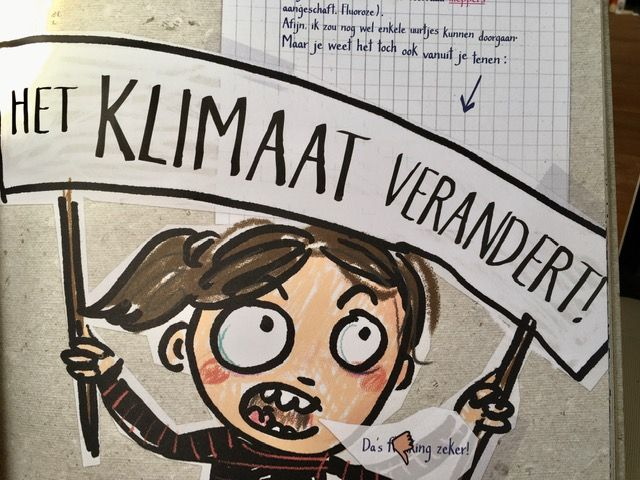 Frida's (coole) koele klimaatboek