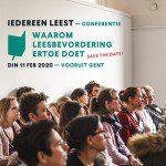 Conferentie - Waarom leesbevordering ertoe doet