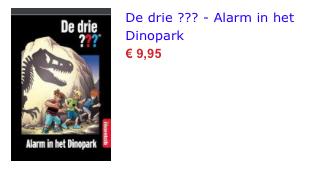 Alarm in het dinopark bol.com