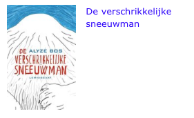 De verschrikkelijke sneeuwman bol