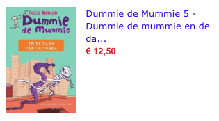 Dummie de Mummie 5 bol.com