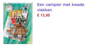 Een vampier met kwade vlekken bol,.com