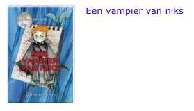Een vampier van niks bol.com