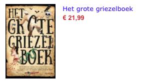Het grote griezelboek bol.com