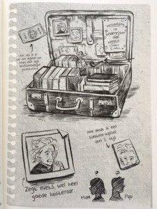Max Einstein illustratie