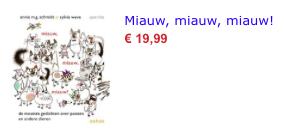 Miauw, miauw, miauw bol.com
