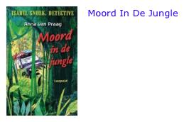 Moord in de jungle bol