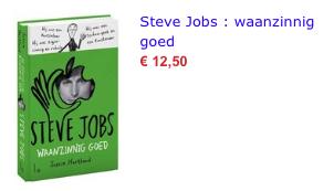 Steve Jobs bol