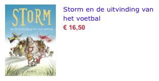 Storm en de uitvinding van het voetbal bol.com