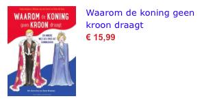 Waarom de koning geen kroon draagt bol.com