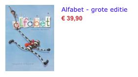 Alfabet groot bol.com