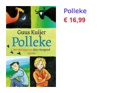 Polleke bol nieuw