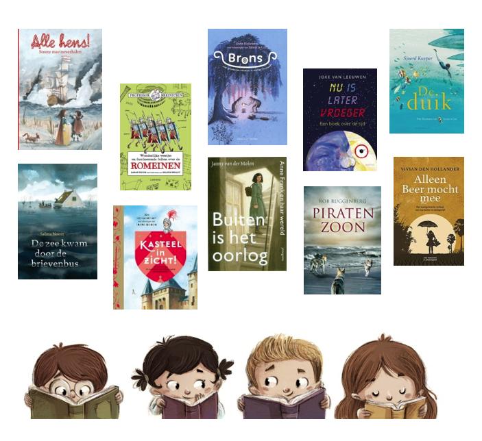 Thematitels Kinderboekenweek 2020 bovenbouw