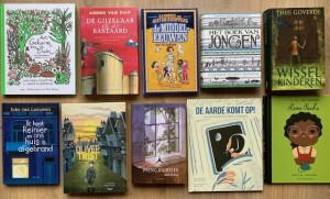 Boeken Kinderboekenweek middeleeuwen tot nu