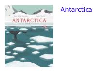 Antarctica bol.com