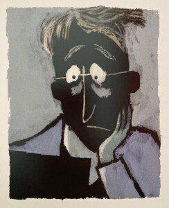 ©2020 Hoogland & Van Klaveren, illustratie van Sylvia Weve uit Meneer Droste van het Kinderboekenmuseum