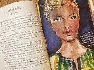 ©2021 ROSE Stories, illustratie van Charlotte Greeven uit Bedtijdverhalen voor rebelse meisjes 3