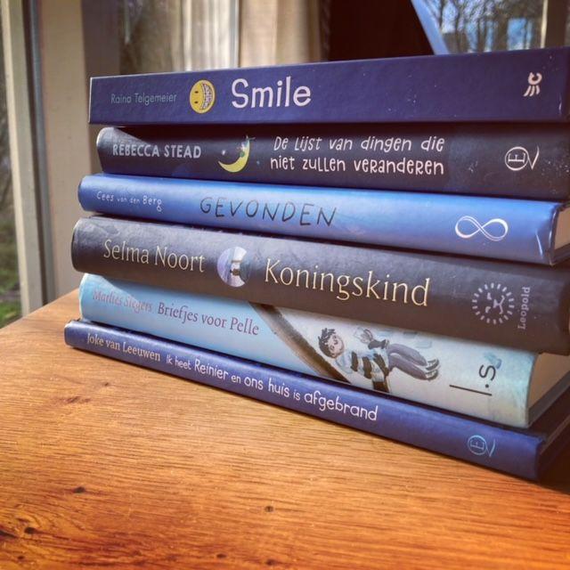 Blauwe boeken