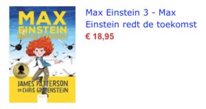 Max Einstein redt de toekomst