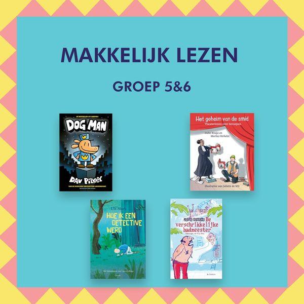 Makkelijk Lezen titels Kinderboekenweek 2021