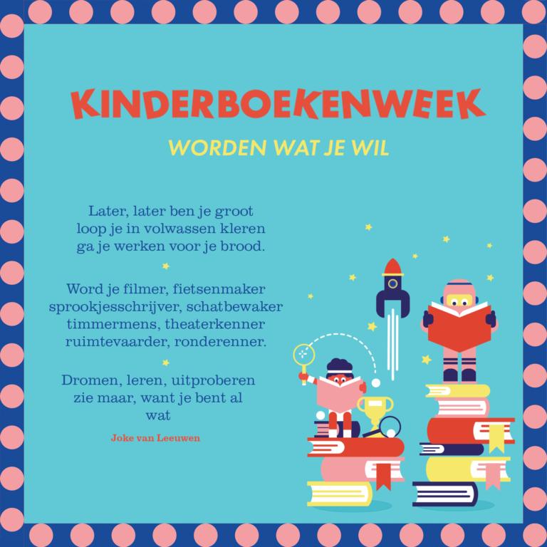 Bijna Kinderboekenweek!